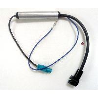Vrac Antenne et adaptateurs Adaptateur Antenne ampli Fakra M ISO M compatible avec BMW Audi Citroen Peugeot Seat Skoda VW Fiat Mercedes
