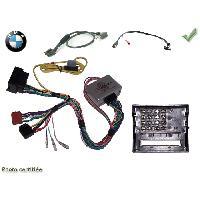 Vrac Commande au volant CDE AU VOLANT SONY POUR BMW 2004> SANS NAV AVEC RADARS RECUL +RECUP BEEPS