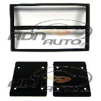 Vrac Facades et supports Autoradio Facade autoradio 2Din compatible avec Nissan 350Z 03-05 - Noir