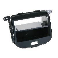 Vrac Facades et supports Autoradio Kit Facade Autoradio KA917 compatible avec Hyundai i10 08-13 Avec vide poche - Noir Rubber touch