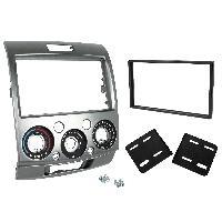 Vrac Facades et supports Autoradio Kit Facade Autoradio KF404B compatible avec Ford Ranger Mazda BT-50 - argent 2Din