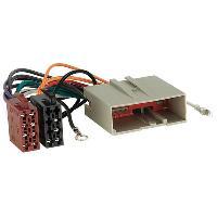 Vrac Faisceaux ISO Fiches ISO Autoradio compatible avec Landrover Freelander ap03 - RAC1603