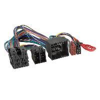 Vracs Faisceaux KML Faisceau Kit mains libres ISO compatible avec Citroen Peugeot ap17 - Cable MUTE