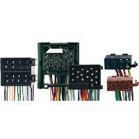 Vracs Faisceaux KML Fiches ISO Installation Kit Main Libre compatible avec BMW Serie 3 av01 Serie 5 E39 av00 Serie 7 E38 E32 av00 Serie 8 E31 av00