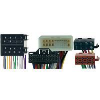Vracs Faisceaux KML Fiches ISO Installation Kit Main Libre compatible avec Hyundai SantaFe ap06 Grandeur ap05 Sonata ap05