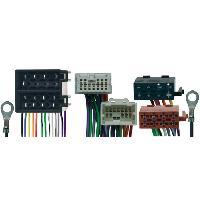 Vracs Faisceaux KML Fiches ISO Installation Kit Main Libre compatible avec Nissan Primera Almera Tino ap05