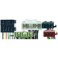 Vracs Faisceaux KML Fiches ISO Installation Kit Main Libre compatible avec Toyota Landcruiser ap03 -avec ampli separe-