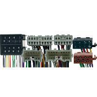 Vracs Faisceaux KML Fiches ISO Installation Kit Main Libre compatible avec Volvo 850 ap93 960 ap93 S70 V70 S40 V40 av00