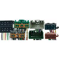 Vracs Faisceaux KML Fiches ISO Installation Kit Main Libre compatible avec Volvo S40 V40 ap00 V50 S60 V70 ap00 C70 S80 XC70 XC90