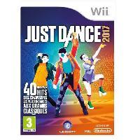 Wii Just Dance 2017 Jeu Wii - Ubisoft