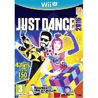 Wii U Just Dance 2016 Jeu Wii U