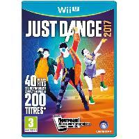 Wii U Just Dance 2017 Jeu Wii U - Ubisoft