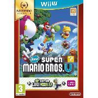 Wii U New Super Mario Bros.U Select Jeu Wii U - Nintendo