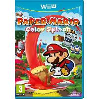Wii U Paper Mario Color Splash Jeu Wii U