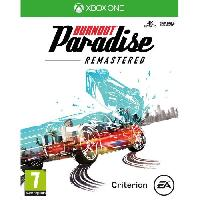 Xbox One Burnout Paradise- Remastered Jeu Xbox One