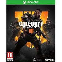 Xbox One Call of Duty Black OPS 4 Jeu Xbox One