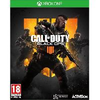 Xbox One Call of Duty Black OPS 4 Jeu Xbox One - Activision