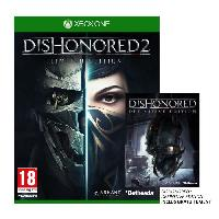 Xbox One Dishonored 2 Limited Edition Jeu Xbox One