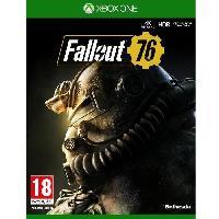 Xbox One Fallout 76 Jeu Xbox One - Bethesda