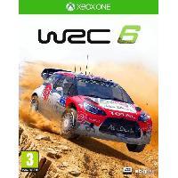 Xbox One WRC 6 Jeu Xbox One - Bigben