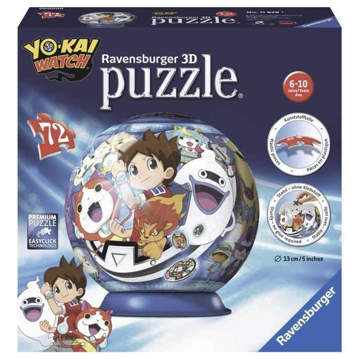 YO-KAI-WATCH-Puzzle-3D-72-pcs-Ravensburger