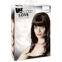 Accessoires coquins LRDP - Perruque Carmen - Noir - Taille 50cm - Wigged Love