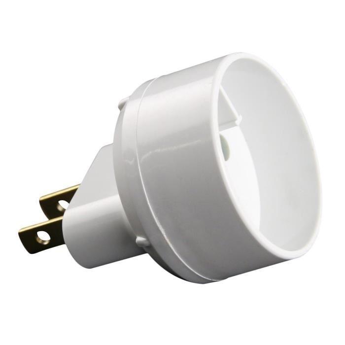 Zenitech zenitech adaptateur euro vers usa blanc 310687 - Adaptateur electrique usa ...