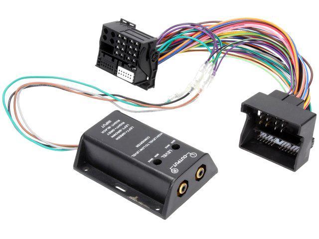 Adaptateur pour ajout amplificateur sur systeme origine - Fakra 2 canaux - BMW serie 1 3 Ford C-Max