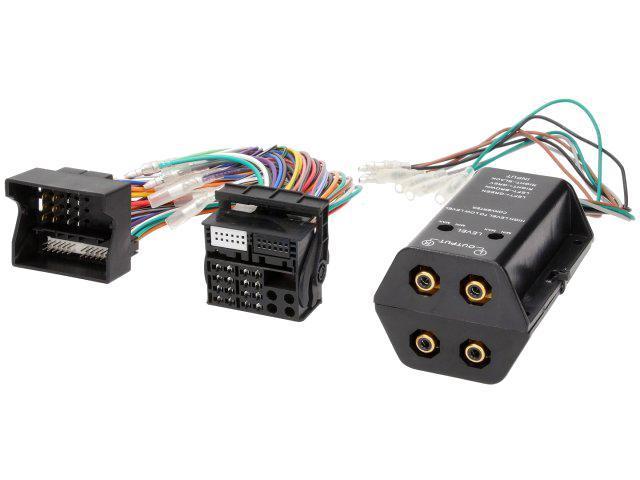 Adaptateur pour ajout amplificateur sur systeme origine - Fakra 4 canaux - BMW serie 1 3 Ford C-Max