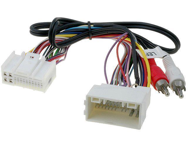 cable autoradio adaptateur rca hyundai h1 h300 ix35 kia sportage ap10 adnauto 288788. Black Bedroom Furniture Sets. Home Design Ideas