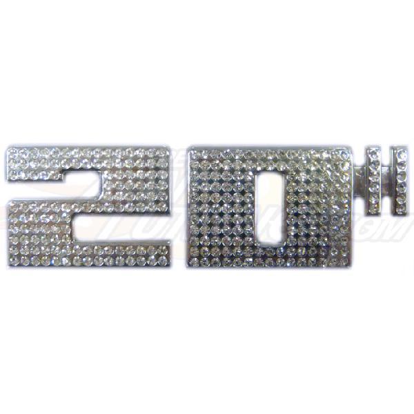 Adhesif / Sticker 3D 20 pouces Diamant