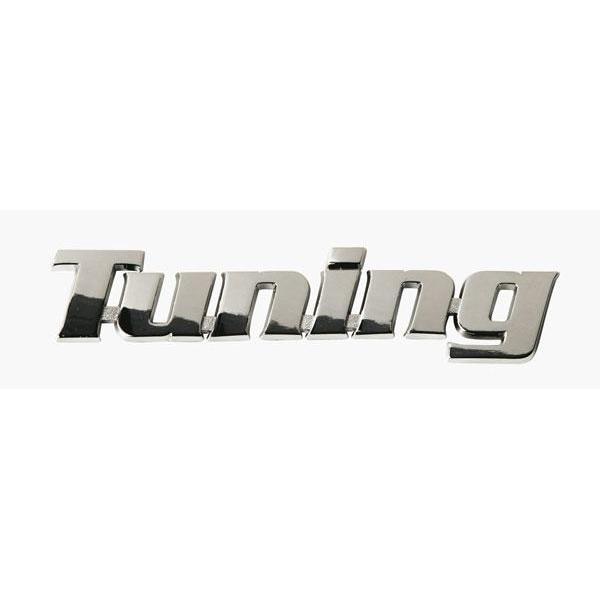 Adhesif / Sticker 3D Chrome - Tuning