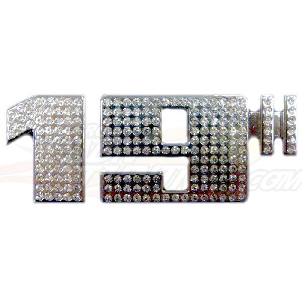Adhesif / Sticker 3D Diamant - 19 pouces