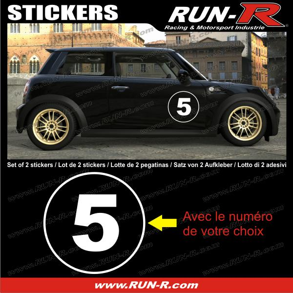 2 stickers numero de course 28 cm blanc tout vehicule adnauto 127308. Black Bedroom Furniture Sets. Home Design Ideas