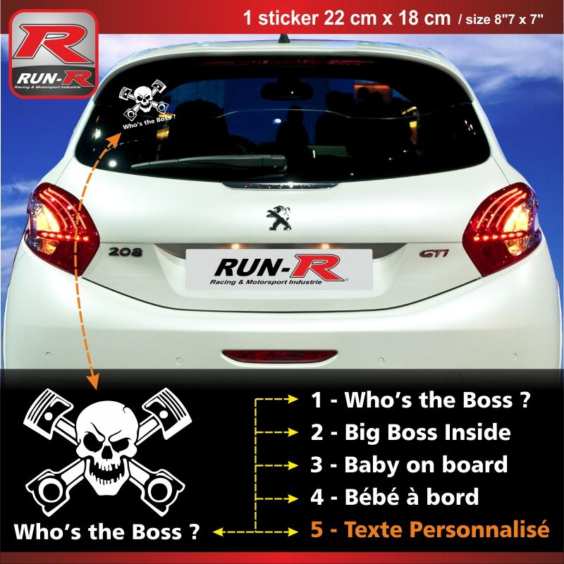 adhesifs peugeot run r stickers sticker 00btb. Black Bedroom Furniture Sets. Home Design Ideas