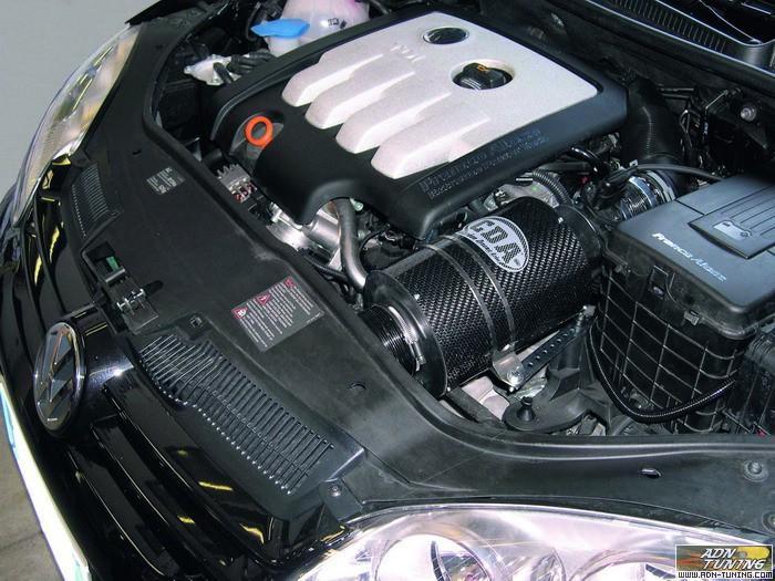 boite a air carbone dynamique cda pour volkswagen golf v 2