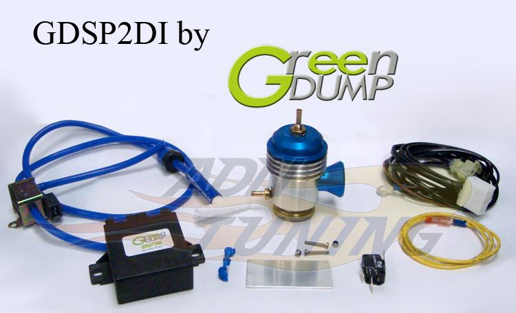 kit dump valve electronique td pour peugeot 407 20l hdi 16v 110cv 06 04 green dump 27673. Black Bedroom Furniture Sets. Home Design Ideas
