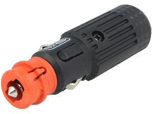 Allume-Cigare & Cendriers ADNAuto - Prise Allume-cigare Male - 12V/15A - Avec fusible - Sans cable