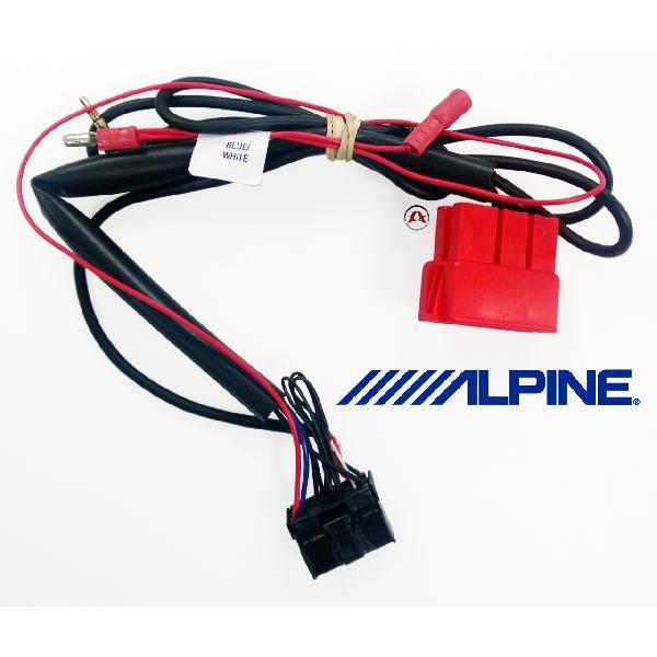 ALP-DW230 - Cable Adaptation pour commande au volant ALP-3RL100 - Chevrolet [Voiture : Chevrolet > Evanda (02-06)] [Voiture : Chevrolet > Lacetti (02-09)] [Voiture : Chevrolet > Rezzo (00-08)]