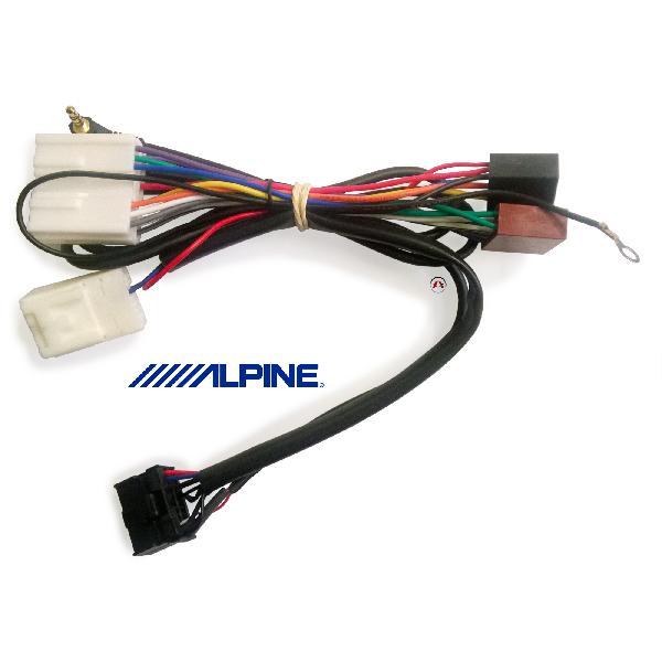 ALP-MI347L200 - Cables Adaptation pour commande au volant ALP-3RL100 - Mitsubishi L200 [Voiture : Mitsubishi > L200 (ap92)]