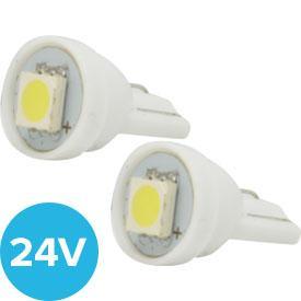 ampoules 24v adnautomid ledt10 smd 24v blanc. Black Bedroom Furniture Sets. Home Design Ideas
