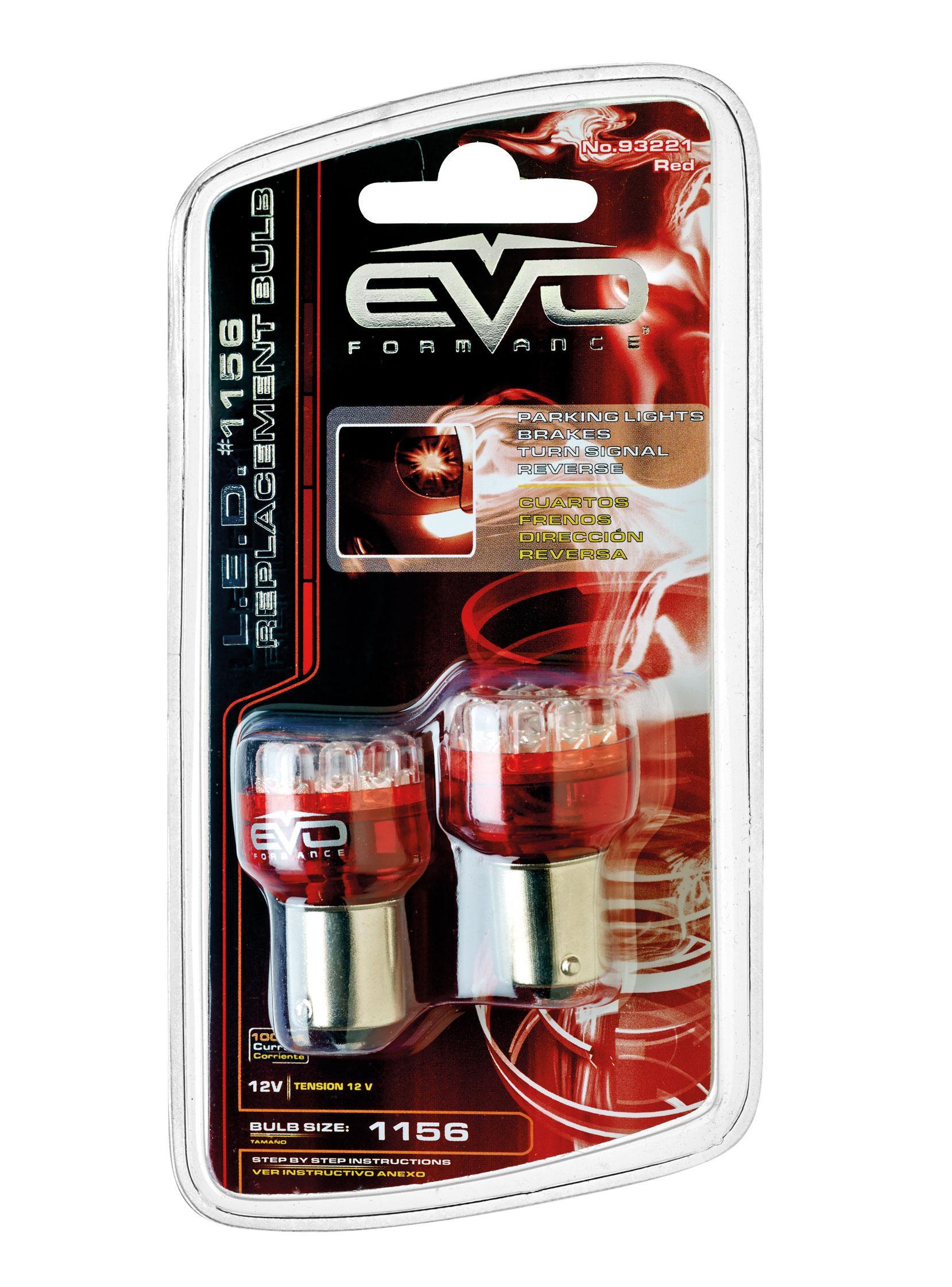 Ampoule voiture ba 12v evoformance ampoule led stop pos - Ampoule led rouge ...