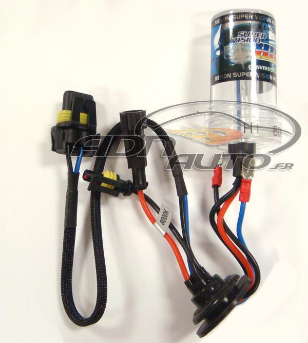 Adnautomid 1 ampoule h7 de rechange pour kit xenon 8000k - Ampoule h7 55w ...