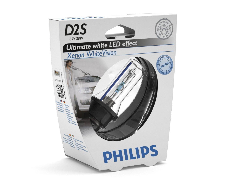 philips 1 ampoule xenon d2s whitevision 12v philips 85122whvs1 351579. Black Bedroom Furniture Sets. Home Design Ideas