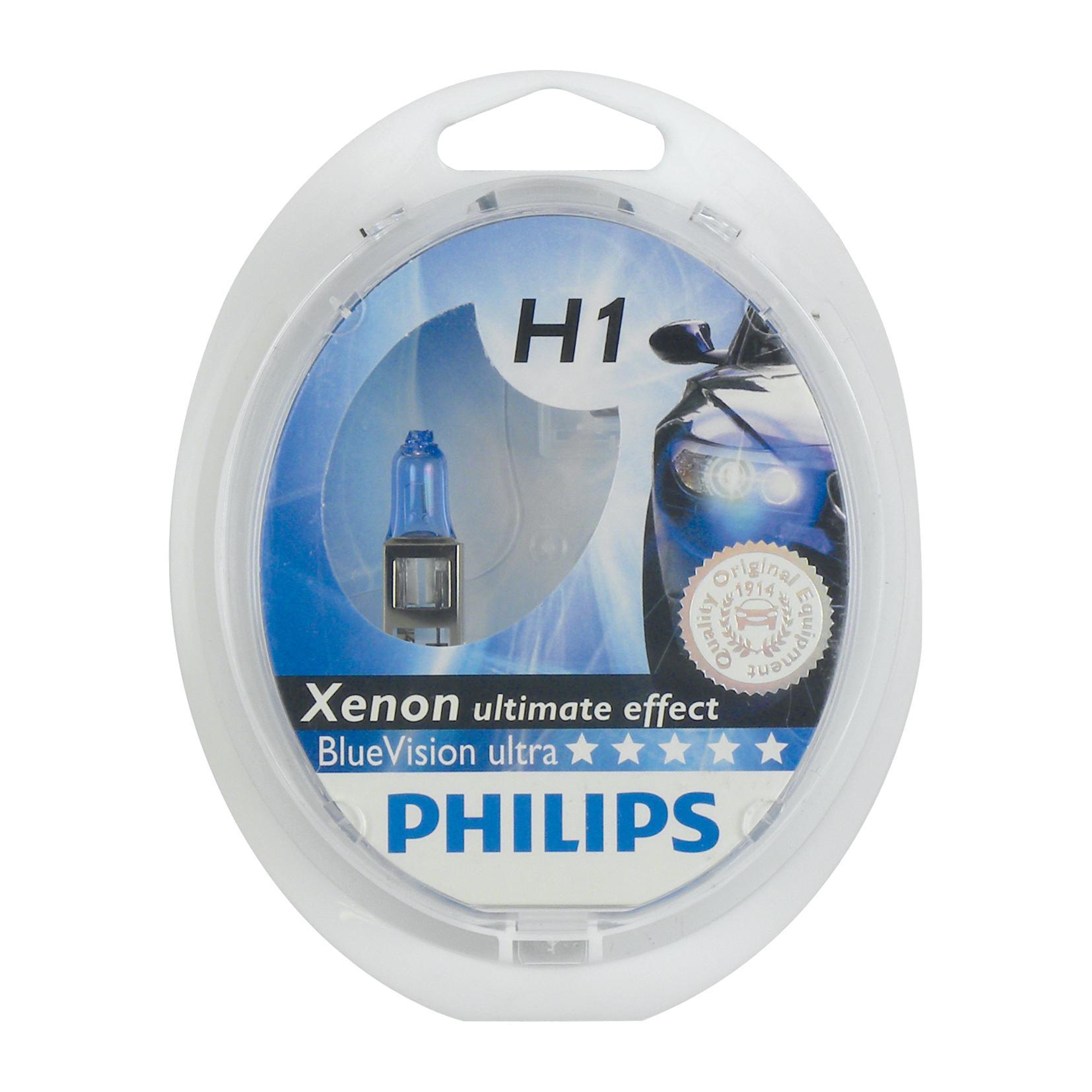 ampoule voiture h1 12v philips philips12258bvusm h1 218259. Black Bedroom Furniture Sets. Home Design Ideas