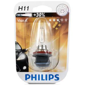 ampoule voiture h11 12v philips 1 h11 12v vision. Black Bedroom Furniture Sets. Home Design Ideas