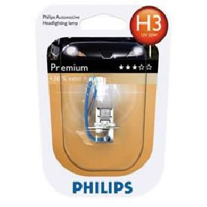 ampoule voiture h3 12v philips 1 ampoule h3 vision. Black Bedroom Furniture Sets. Home Design Ideas
