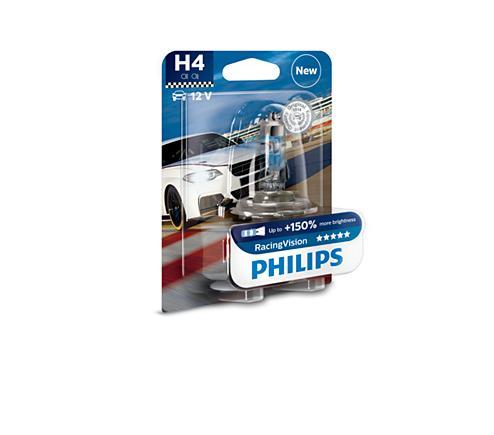 ampoule voiture h4 12v philips 1 ampoule h4 racing. Black Bedroom Furniture Sets. Home Design Ideas