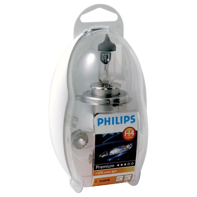 ampoule voiture h4 12v philips h4 30 philips. Black Bedroom Furniture Sets. Home Design Ideas