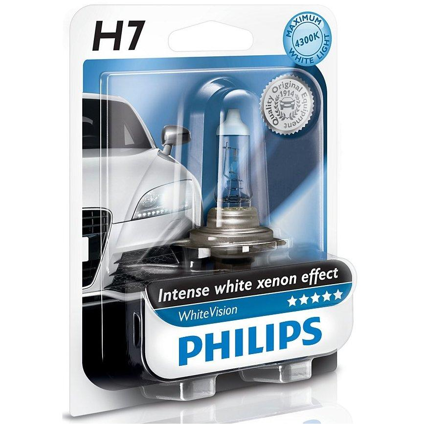 philips 1 ampoule h7 12v 55w 4300k whitevision. Black Bedroom Furniture Sets. Home Design Ideas